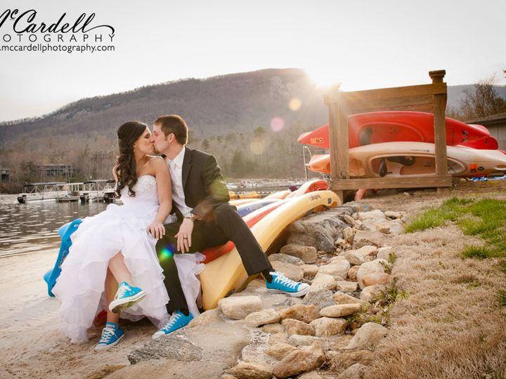 Tmx 1381867820439 80lake Lure Wedding Photography Rumbling Bald Lake Lure, North Carolina wedding venue