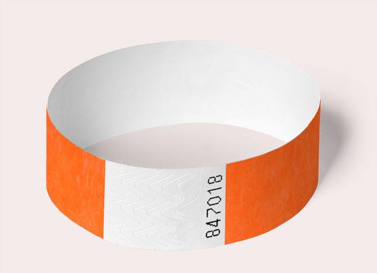 wristband round coral