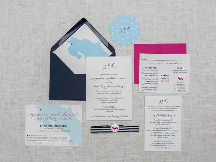 Tmx 1442877342575 Rubythefox Set2 001 Towson wedding invitation