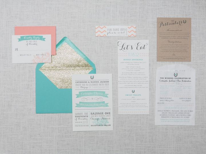 Tmx 1442877693810 Rubythefox Set1 040 Towson wedding invitation