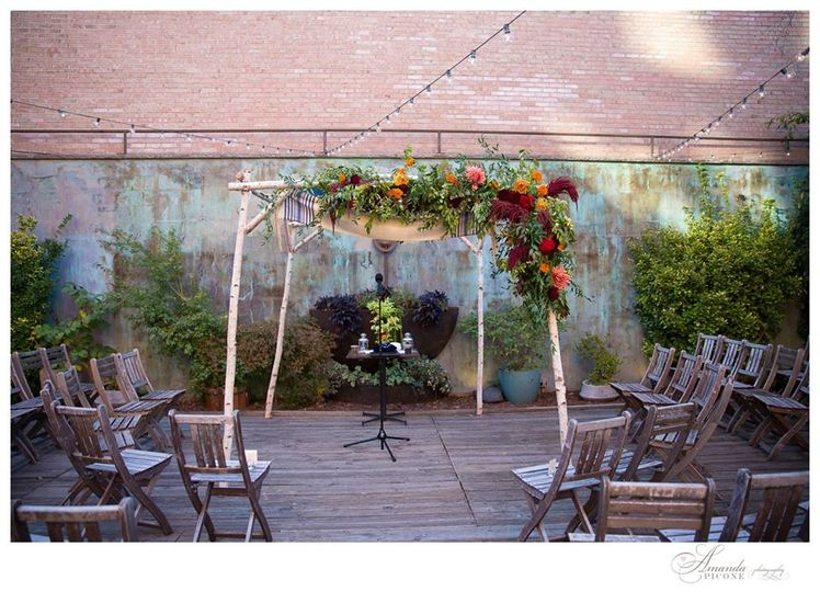 October Chuppah