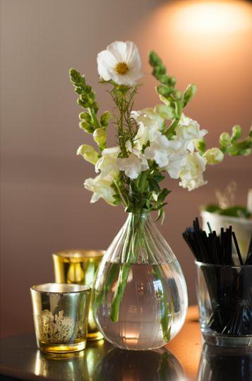 September bud vase