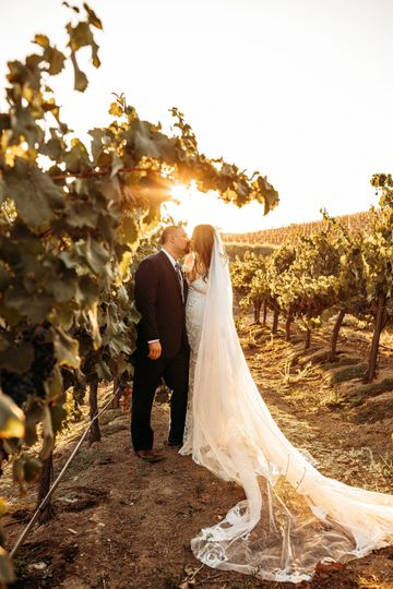Temecula, CA Vineyard Wedding