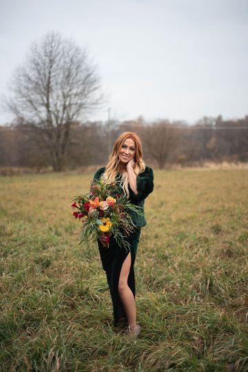 Non-traditional Bridal Bouquet