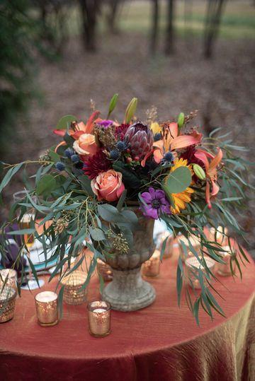 Outside Bride Table