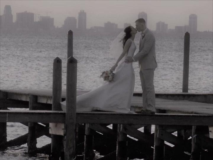 Kiss at the boardwalk