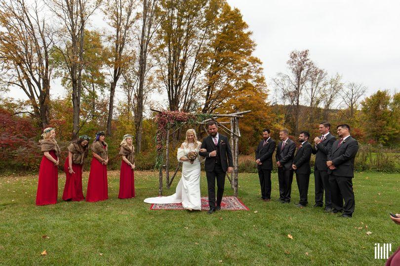 Carlisle + McCarthy Wedding at Rockingham Hill Farm