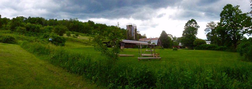Rockingham Hill Farm, beautiful wedding location with rustic barn.