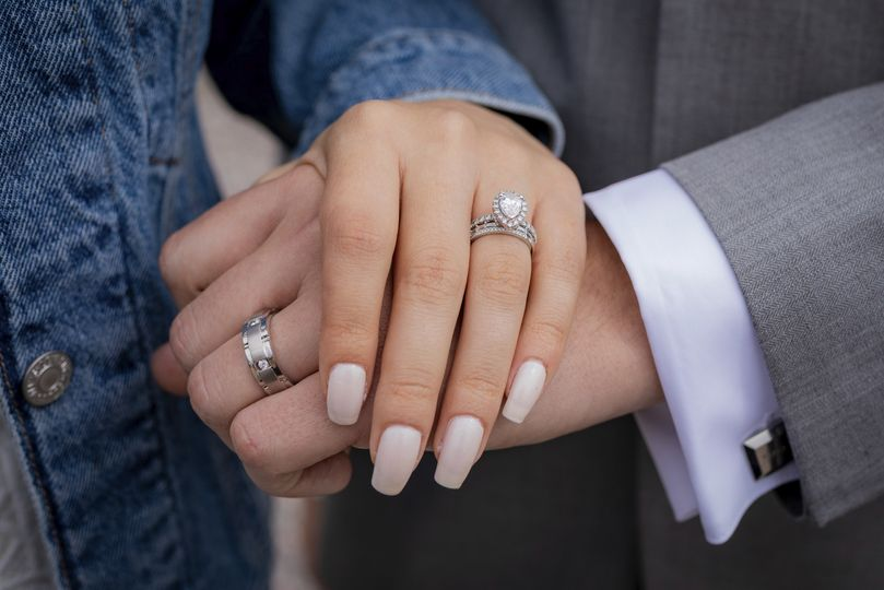 Married! The RIngs!