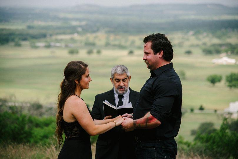 Hilltop vows