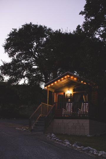 Private couple's cabins