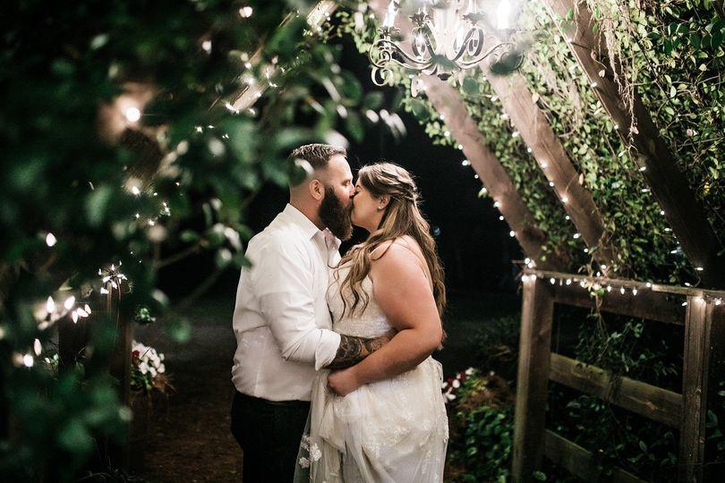 Nighttime Boho Wedding