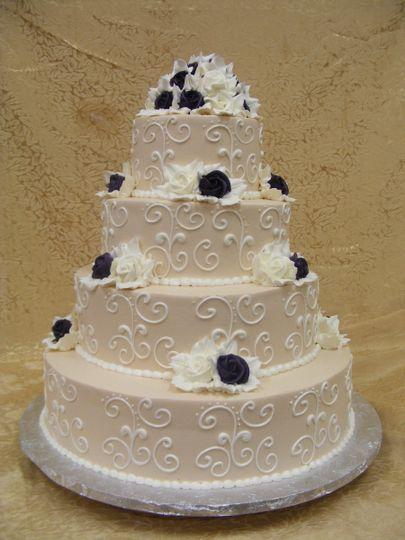 Creme colored cake