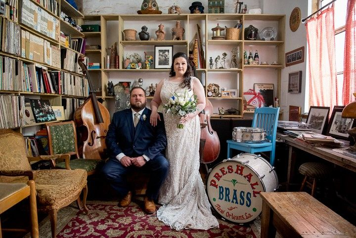 Preservation Hall Wedding