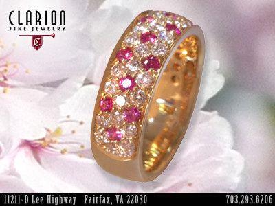 Tmx 1398929183590 Custompinksapphirerin Fairfax wedding jewelry