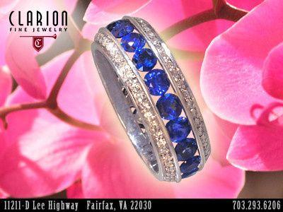 Tmx 1398929188162 Customsapphirediamondrin Fairfax wedding jewelry