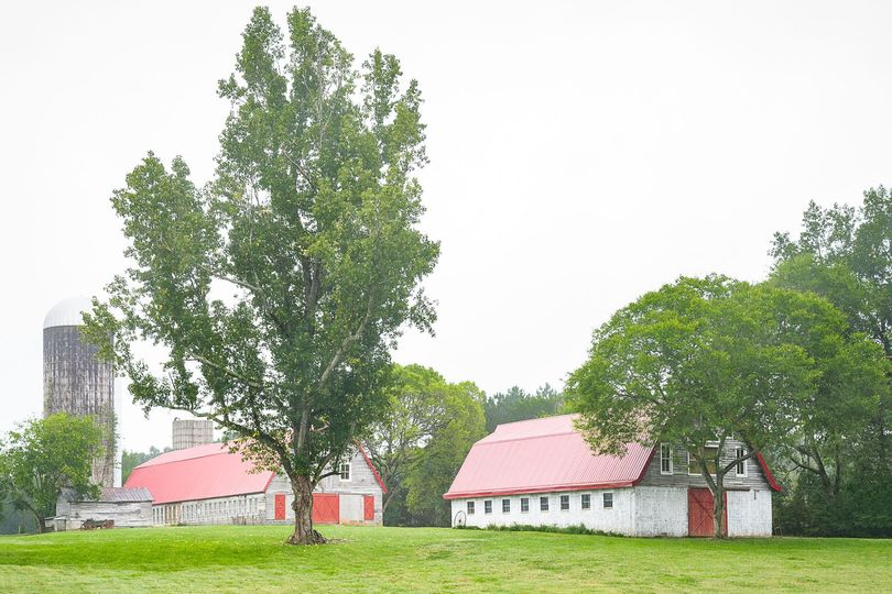There are three massive barns on property.  The ADA barn was built for weddings and events in 2014...