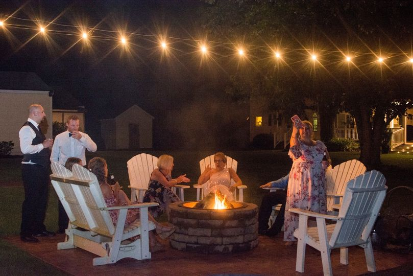 Multiple fire pits