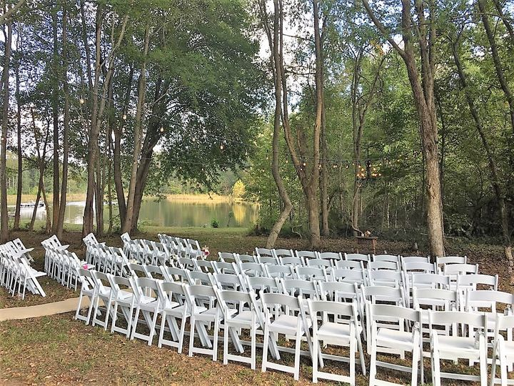 Tmx Wedding In The Woods By Debbie 2018 View Of Pond 51 613577 Powhatan, VA wedding venue