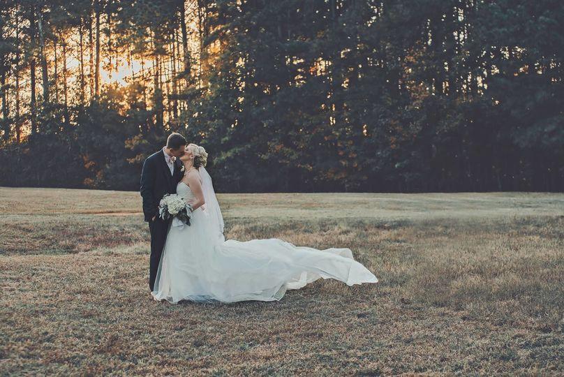 Couple sweet kiss portrait