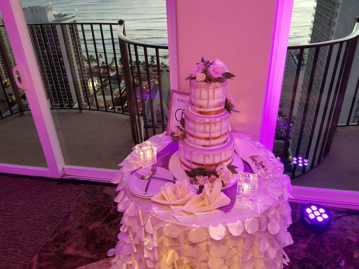 Highlighted cake