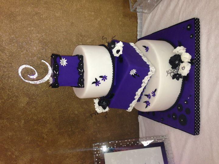 Tmx 1467657383600 Img3822 Waukesha wedding cake