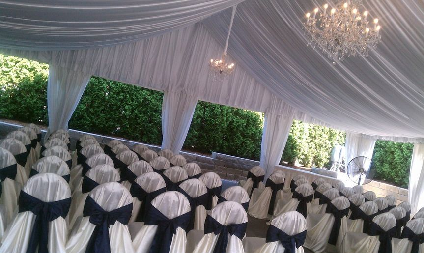 Ceremony-style seating