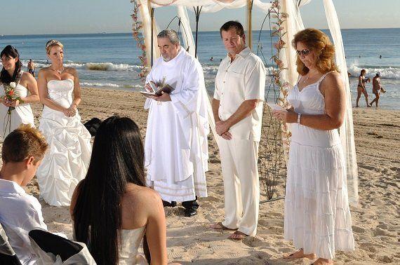 A wonderful morning wedding
