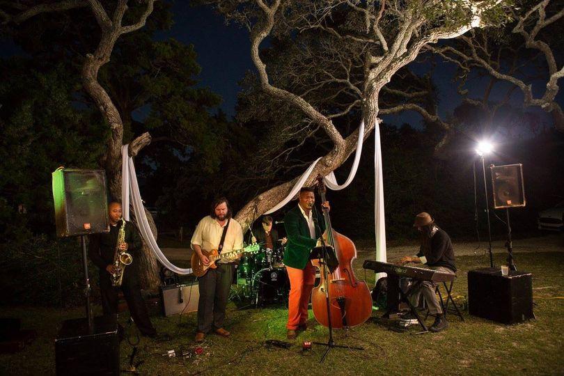 Live Jazz Band Outside