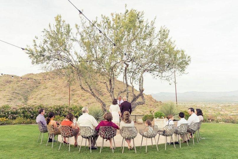Intimate Arizona Wedding