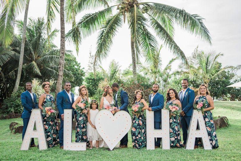 Wedding at Loulu Palms Estate