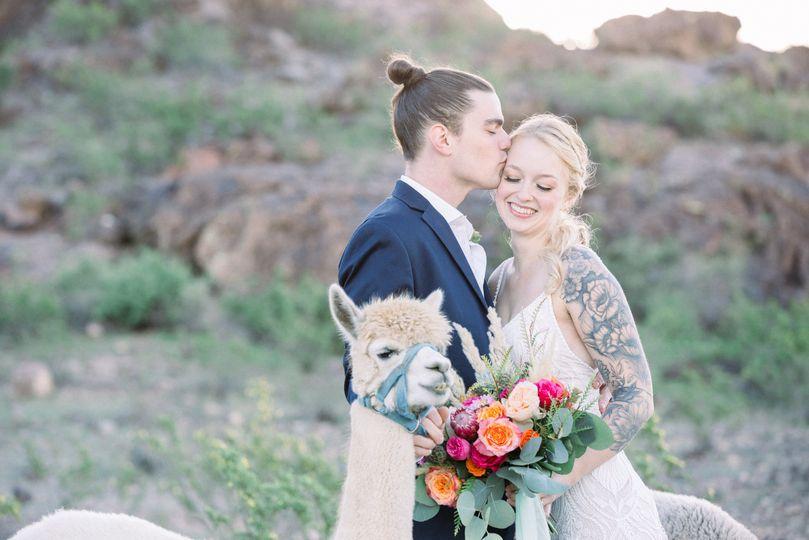 Desert Wedding in Arizona