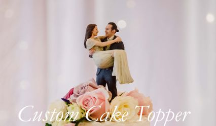 Cake Toppers by 3D Holodeck Studios