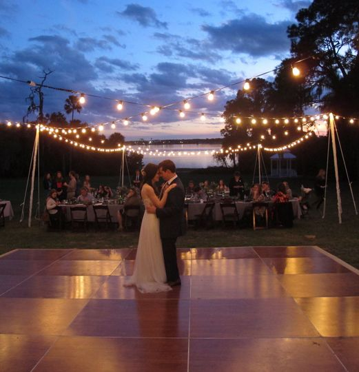 The perfect wedding lighting for your Orlando reception.