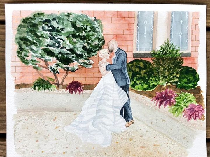 Tmx Wedding Painting 51 1020677 Durham, North Carolina wedding favor