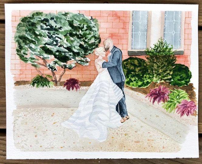 A final wedding portrait