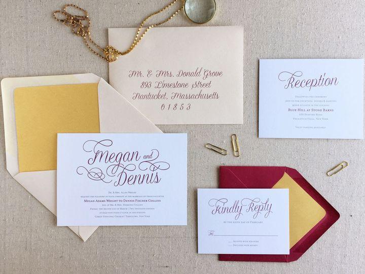 Tmx 1483550515622 Diana2 Maynard wedding invitation