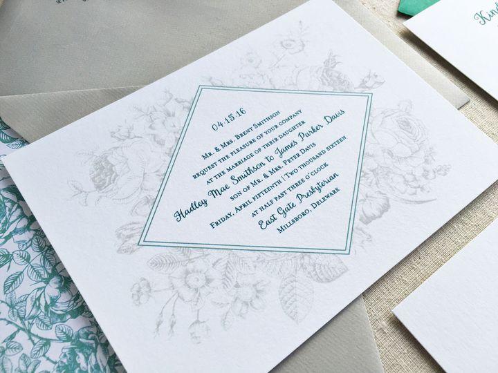 Tmx 1483550548215 Evelyninvite Maynard wedding invitation