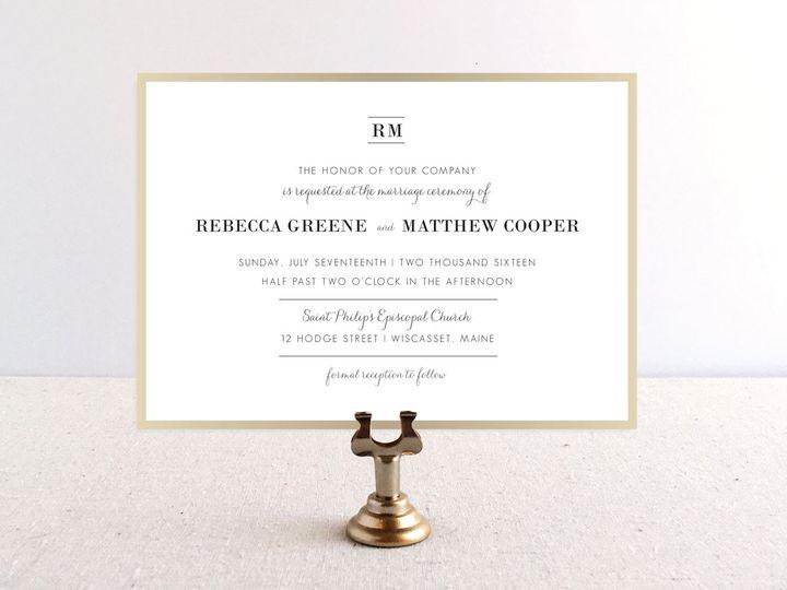 Tmx 1483550572916 Fredrickinvitation Maynard wedding invitation