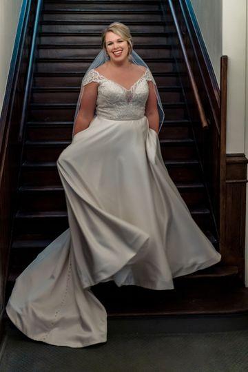 The Wedding Tree Dress Attire La Crosse Wi Weddingwire