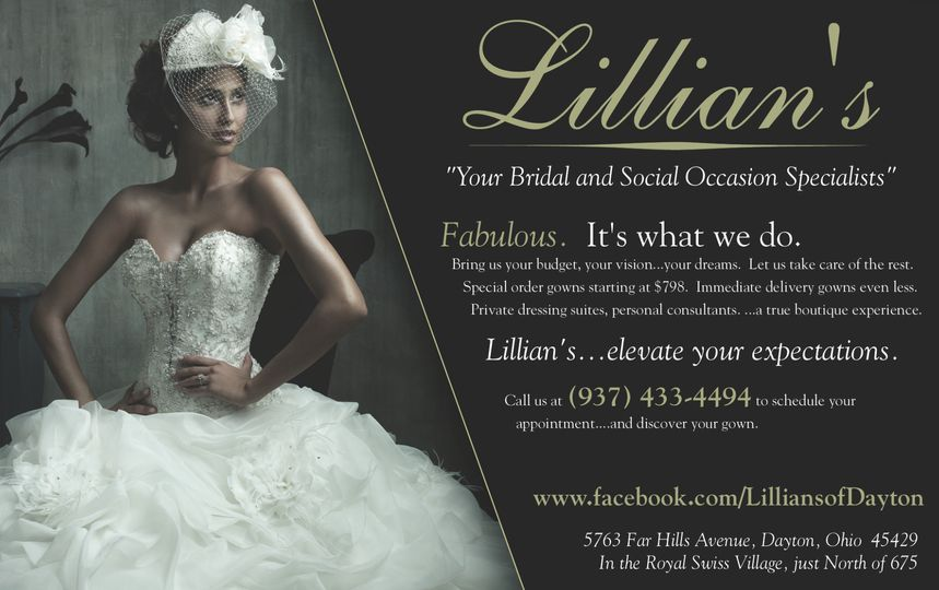 Lillian\'s Bridal Boutique - Dress & Attire - Dayton, OH - WeddingWire