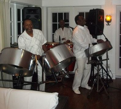 Steel Drum Band at Pre Wedding Party, Wedding Rehearsal Dinner in Captiva Island Florida.