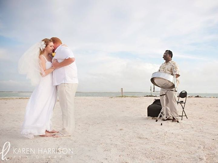 Tmx 1410279049514 Beach Weddin Honeymoon Island Orlando wedding band
