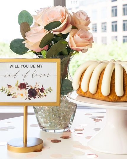 Ask your bridal party in style