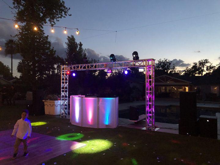 West Coast Sounds - Special lighting