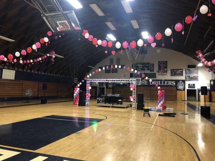 West Coast Sounds -Gymnasium event location