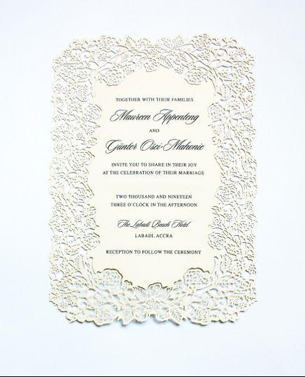 Laser-cut Wedding Suite