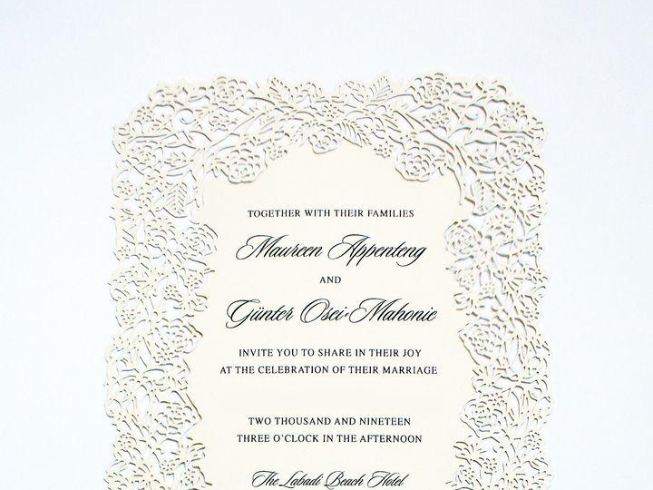 Tmx Appenteng Wedding Photo 1 Edit 51 1064677 1563307816 Sunnyside, NY wedding invitation