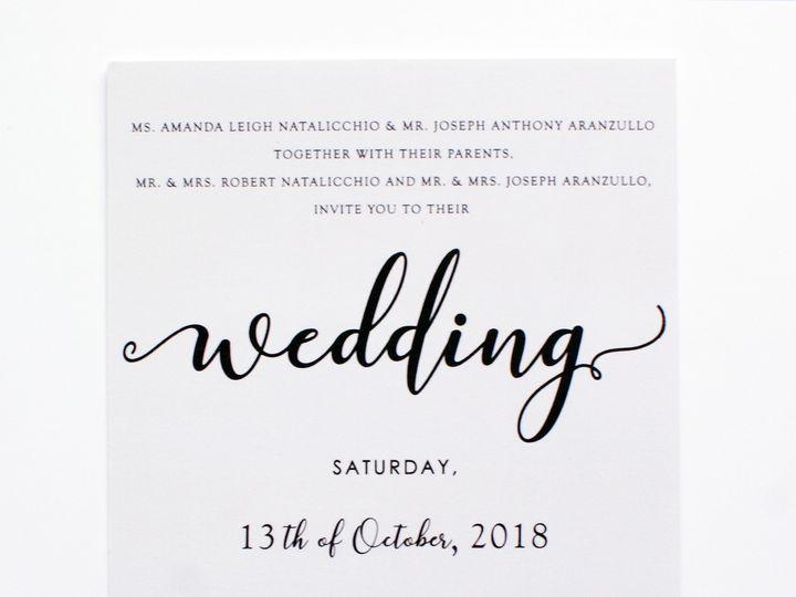 Tmx Aranzullo Wedding 1 51 1064677 1557347253 Sunnyside, NY wedding invitation