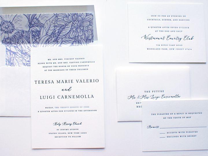 Tmx Carnemolla Wedding 7 Small 51 1064677 1557344129 Sunnyside, NY wedding invitation
